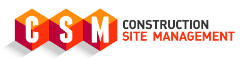 Construction Site Management Retina Logo